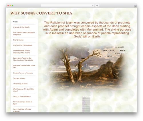 BLANK Theme template WordPress - why-sunnis-convert-to-shia.com