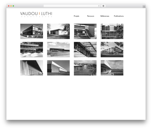 BLANK Theme WordPress theme - vaudou-luthi-architectures.com