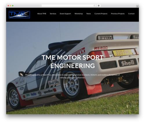 Corporate Plus Pro automotive WordPress theme - tme-ltd.com