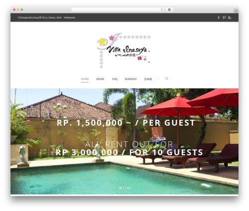 Hotel Master WordPress hotel theme - villainaseya.com