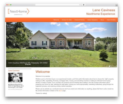NextHome Responsive theme WordPress - lanesellscolumbus.com