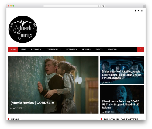 WordPress theme Kathmag - nightmarishconjurings.com