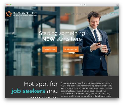 Best WordPress theme cherry - devonshirerecruitment.com