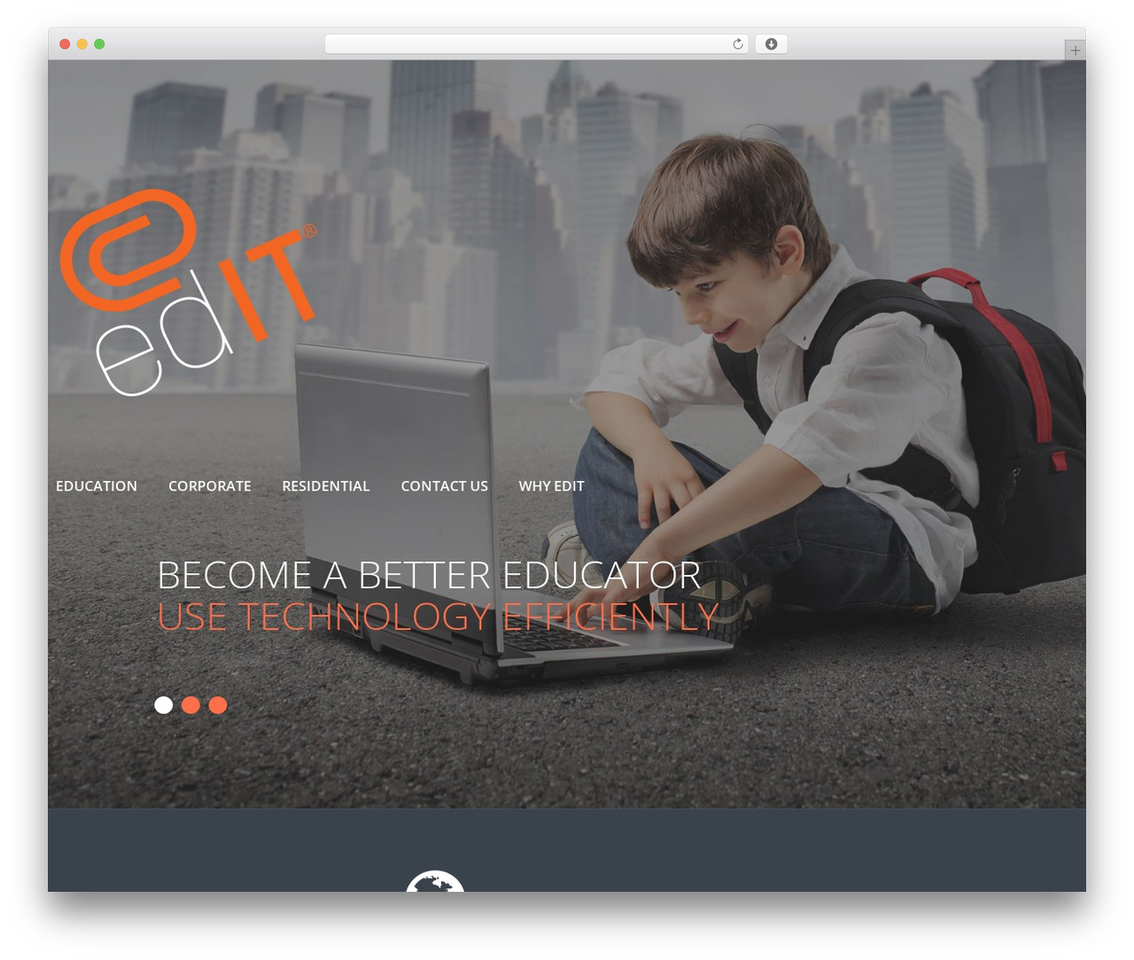 cherry WordPress theme - meetedit.com