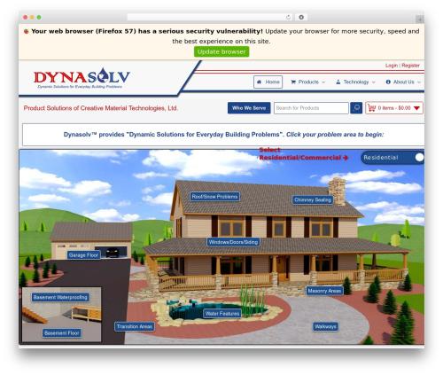 Gantry Theme for WordPress premium WordPress theme - dynasolv.com