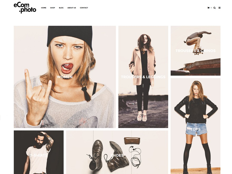 imediaecom WordPress store theme