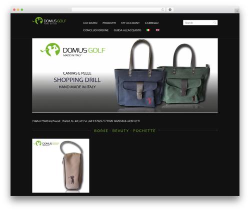 Shopper Responsive WordPress Woocommerce Theme WordPress ecommerce theme - domusgolf.com