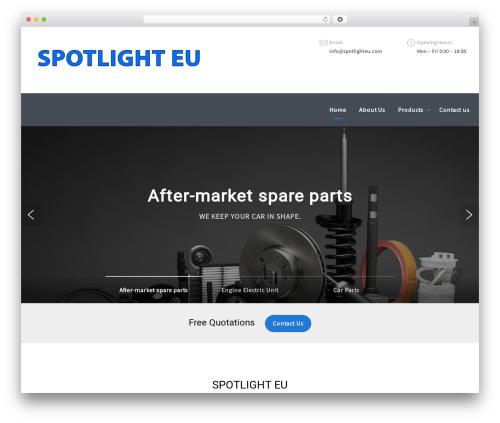 Theme WordPress Mechanic - spotlighteu.com
