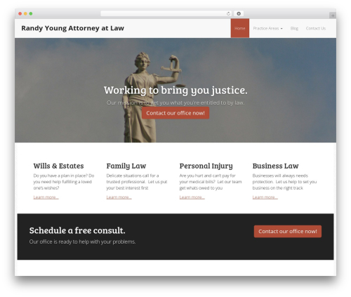 Theme WordPress The Modern Law Firm - randyyoung.com