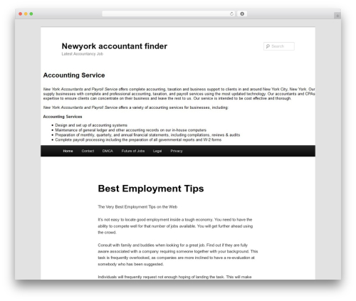Twenty Eleven WordPress theme free download - newyorkaccountantfinder.com
