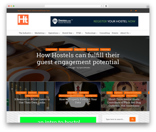 Voice | Shared by Themes24x7.com template WordPress - hosteltrends.com