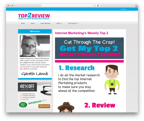 Authority by MyThemeShop WordPress ecommerce theme - top2review.com