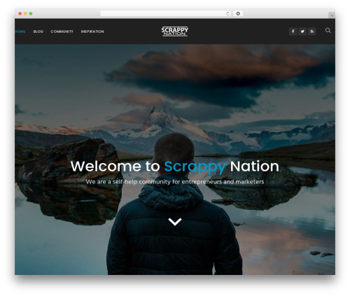 Aven best WordPress theme - scrappynation.com
