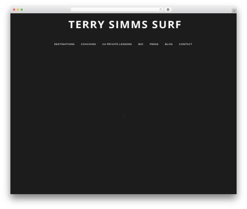 Citrus Theme WordPress travel theme - terrysimmssurf.com