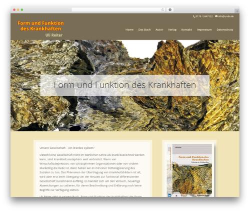 Divi WP theme - pathologisierung.com