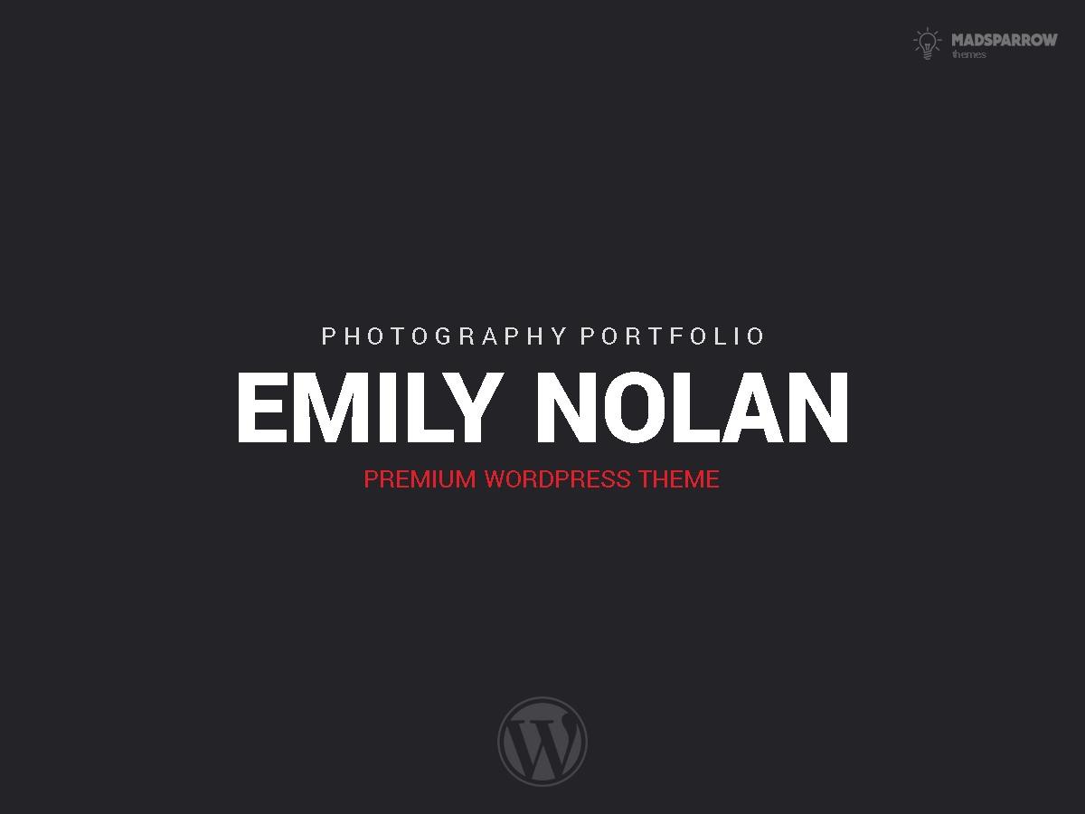 EmilyNolan WordPress theme image