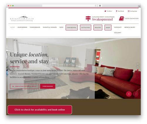 Hotelcalifornia WordPress theme - atlantic-villa.com