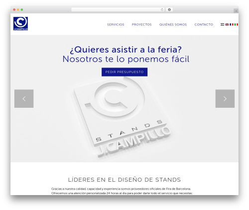 LARX theme WordPress - jcampillo.com