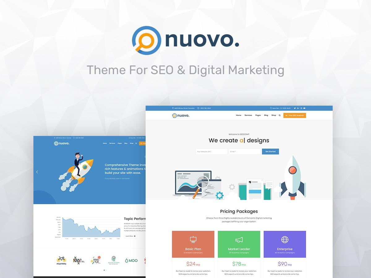 NuovoWP top WordPress theme