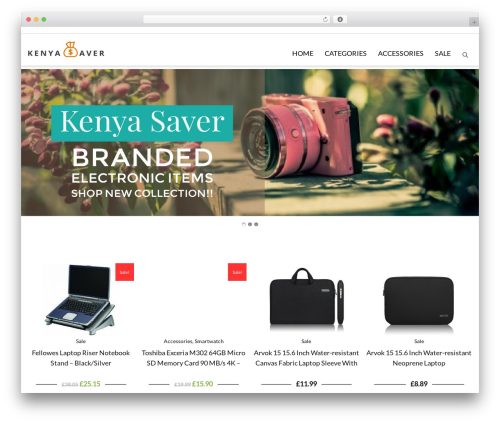 PBTheme v3.3.9 WordPress theme - kenyasaver.com