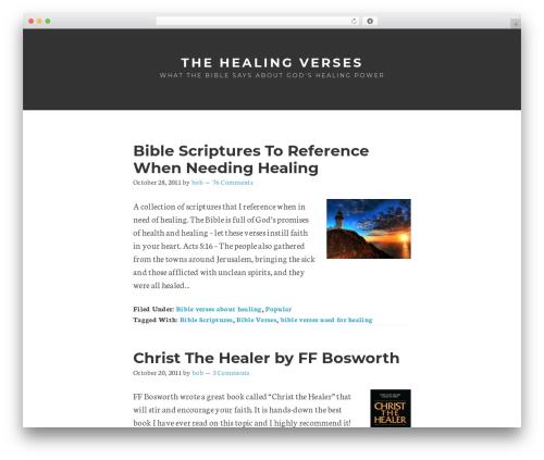Remobile Pro WordPress theme - thehealingverses.com