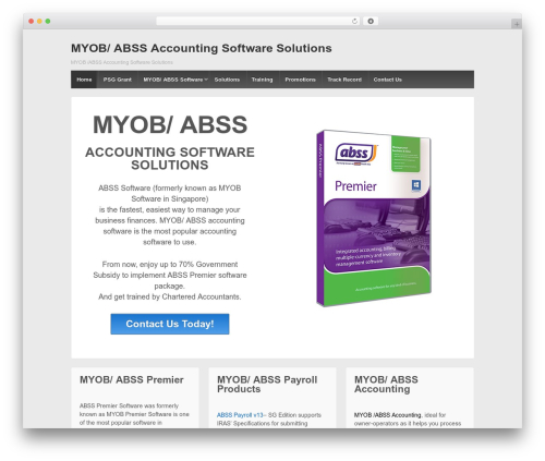 Responsive WordPress free download - myob-accounting-software.com