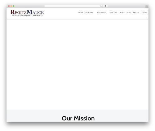 Template WordPress Anacron - regitzmauck.com