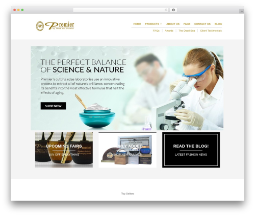 Theme WordPress The Retailer - premierdeadseazim.com