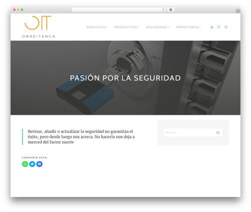 TheMotion Lite free WP theme - obreitanca.com