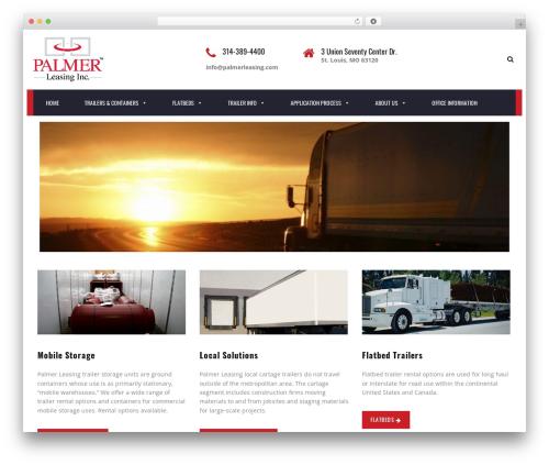 TM Transport WordPress template - palmerleasing.com
