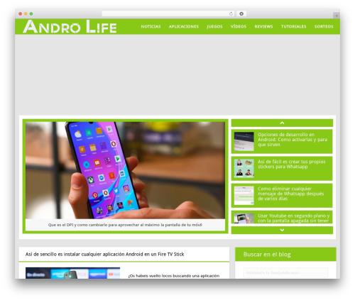 truemag best WordPress theme - andro-life.com
