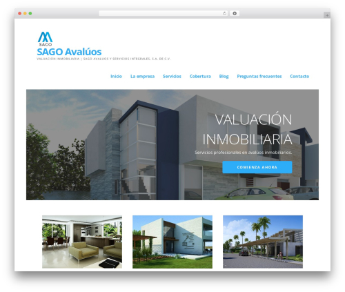 WordPress template Ascension - sagoavaluos.com