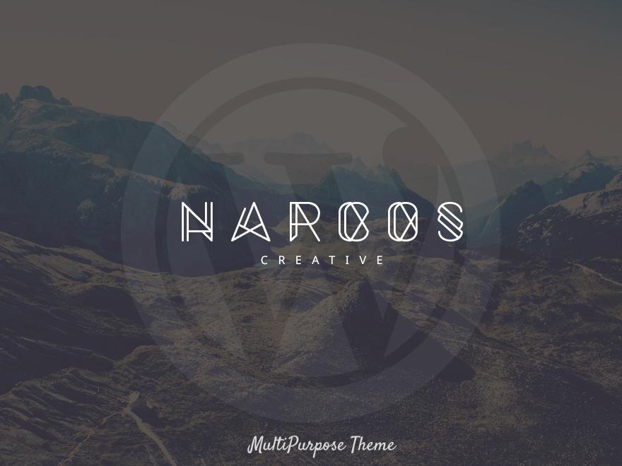 WordPress theme Narcos Child 01