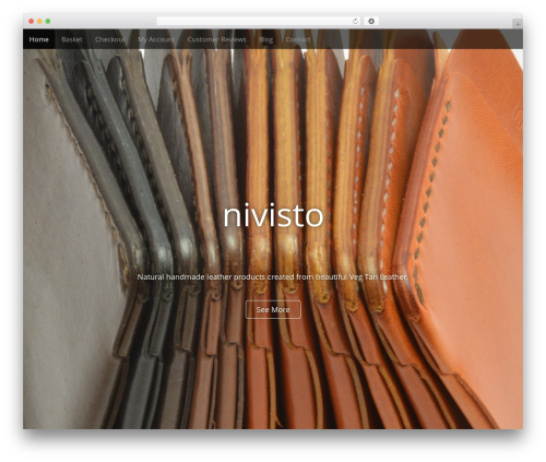 WordPress website template Arcade Basic - nivisto.com