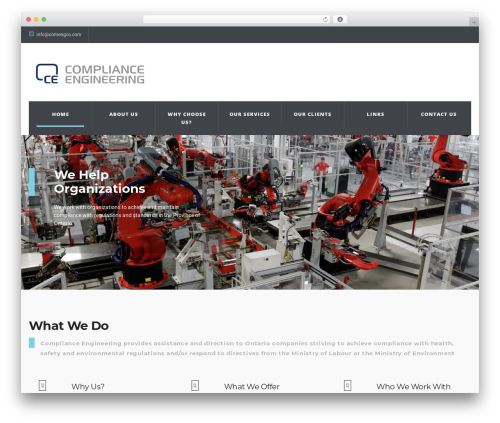 WP Industry Theme WP theme - comenginc.com