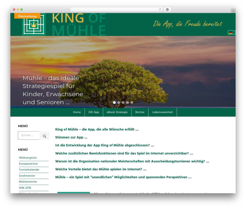 Best WordPress template Palm Beach - king-of-muehle.com