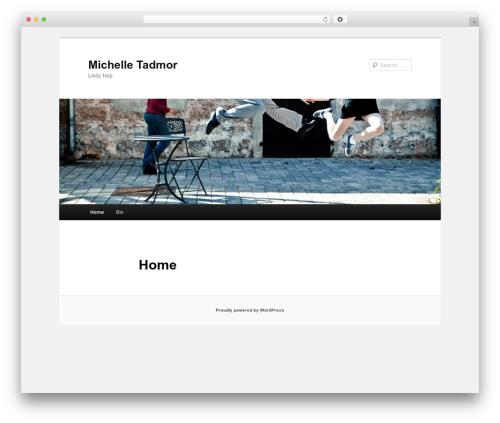 Best WordPress template Twenty Eleven - michelletadmor.com