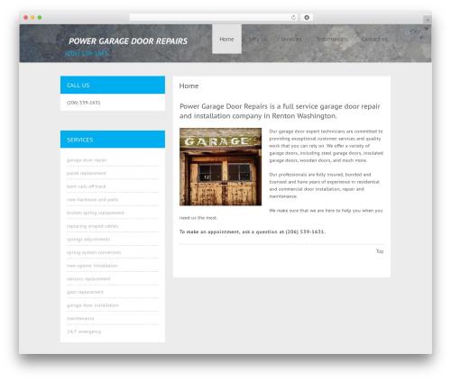Cheap Travel WordPress template - powergaragedoorrepairs.com