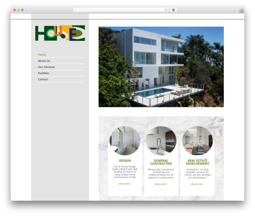 CS Radix best WordPress template - housedinc.com