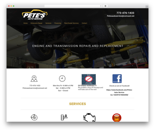 Custom Theme WP theme - chicagoemissionsrepair.com