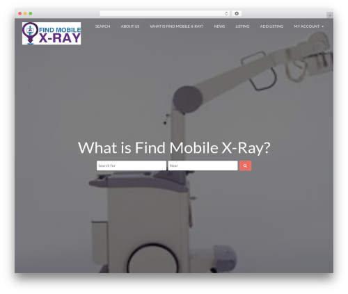 Directory Starter template WordPress - findmobilexray.com