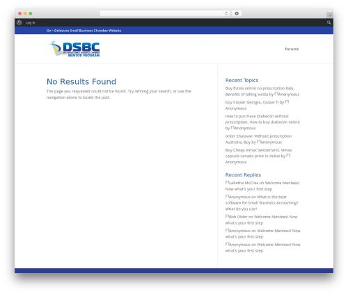 Divi company WordPress theme - dsbcmentoring.com