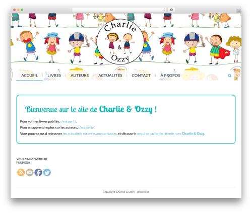 Eezy Store WordPress shopping theme - charlie-et-ozzy.com