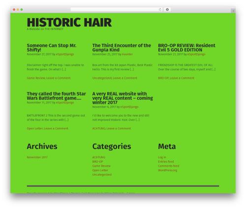Grid Magazine WordPress template free download - historichair.com