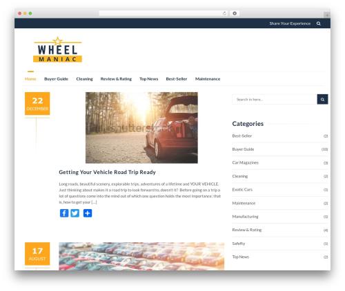 IsleMag free WordPress theme - wheelmaniac.com