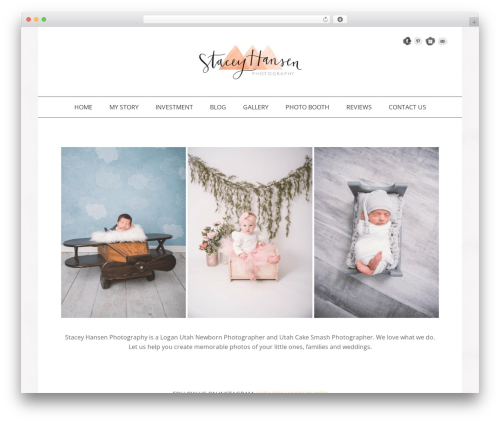 Jasmine - Premium WordPress photo theme - staceyhansenphotography.com