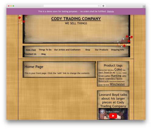 NoNa WordPress theme - codytradingcompany.com