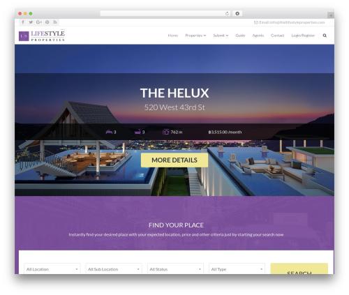 NOO Citilights premium WordPress theme - thailifestyleproperties.com