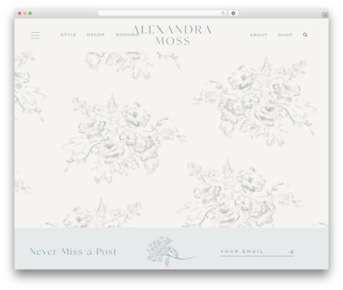 Opulence (pipdig) WordPress blog template - beachbelleblog.com