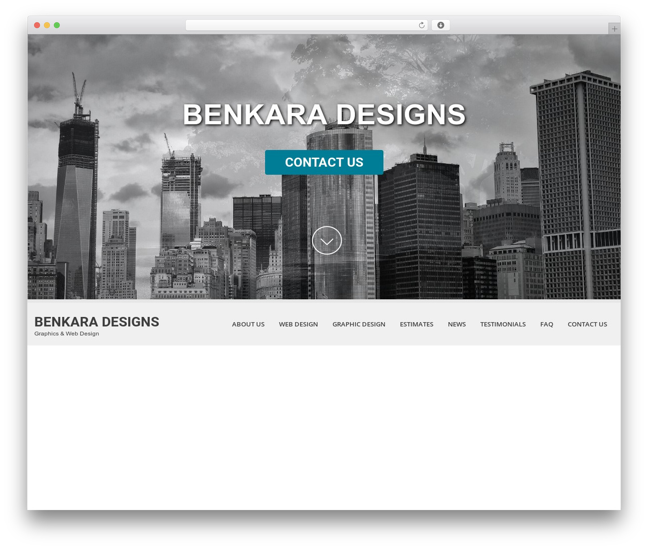 SKT White theme WordPress - benkara.com